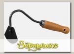 Мотыжка радиусная с деревянной ручкой GRINDA PROLine