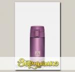 Термос бытовой вакуумный Сиреневый (для напитков), 350 мл