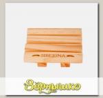 Мыльница деревянная, модель 5