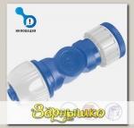 """Угловой коннектор - адаптер для шлангов d 1/2"""" -  5/8"""" - 3/4"""" (12.5 - 15 - 19 мм) AS"""