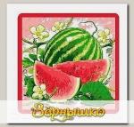 Прихватка Ягоды-фрукты (арбуз)