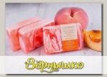 Мыло ручной работы Цветы Белого персика и Масло манго, 100 г