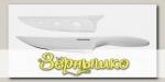 Нож повара с неприлипающим покрытием PRESTO BIANCO, 17 см
