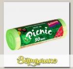 AV Avikomp Picnic Пакеты для Хранения продуктов Салатовые 24х37 см, 50 шт. (рулон)
