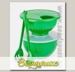 Комплект посуды Хозяюшка-3 в упаковке (Цвета в ассортименте)