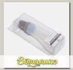 Кисточка силиконовая с ручкой-контейнером GEMINI