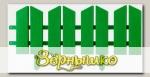 Бордюр декоративный Летний сад GRINDA (зеленый), 16х300 см