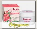 Крем для лица Дневной Против морщин My Rose of Bulgaria, 50 мл