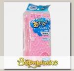 Губка для чистки ванн большая (розовая)