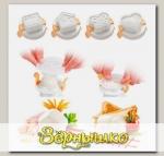 Формочки для придания яйцу формы PRESTO, 4 шт.