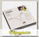 Весы цифровые складные Joseph Joseph TriScale™ Белые (до 5 кг)