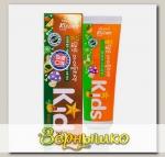 Зубная паста гелевая детская с Тропическим вкусом с 2 лет Kizcare Kids, 75 г