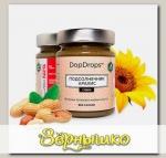 Паста Арахисово-подсолнечная запеченная протеиновая со стевией, 250 г