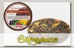 Чай черный с брусникой, черноплодной рябиной, календулой Таежный сбор (плитка), 50 г