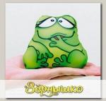 Игрушка-мочалка растущая в воде Лягушка Веселая