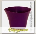 Кашпо Волна Фиолетовый, 0,6 л
