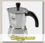Кофеварка гейзерная на 3 чашки GALAXY (серебряная)