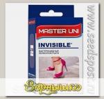 Лейкопластырь Master Uni Invisible бактерицидный На прозрачной основе, 20 шт.
