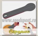 Ложка-лопатка Spreader серо-розовая