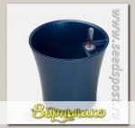 Кашпо с автополивом Комфорт Синий перламутр, 2,5 л