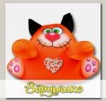 Игрушка для купания Аква Крошка Рыжий кот