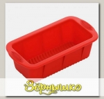 Форма MILA для кекса силиконовая, 25,5x13x7,2 см