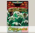 Подснежник махровый СНЕЖНЫЙ КОЛОКОЛЬЧИК, 5 шт. Эксклюзив
