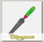 Совок LISTOK для посадки с прорезиненной ручкой, 33,5 х 4,2 см