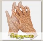 Перчатки садовые бесшовной вязки с полиуретановым покрытием Коричневые GRINDA, размер L