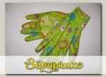 Перчатки LISTOK, нейлон с нитриловым покрытием салатовый, M