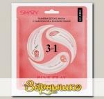 Детокс-маска для лица тканевая с сывороткой и Розовой глиной 3-в-1 PINK CLAY, 25 г