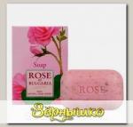 Мыло с частичками лепестков роз Rose of Bulgaria, 100 г