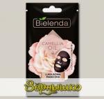 Эксклюзивная омолаживающая тканевая маска CAMELLIA OIL