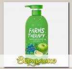 Гель для душа ЗЕЛЕНОЕ ЯБЛОКО Farms Therapy, 700 мл