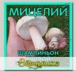 Мицелий зерновой Шампиньон Кривой, 150 мл