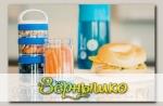 Контейнеры для перекусов и еды BlenderBottle GoStak Starter бирюзовый, 4 шт.