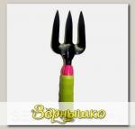 Вилка садовая LISTOK с прорезиненной ручкой 26,5 х 8 см