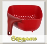 Дуршлаг Joseph Joseph Square Colander Plus Small Красный