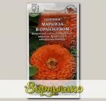 Цинния Маркиза в Оранжевом, 0,3 г