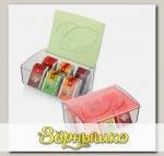 Коробка для чайных пакетиков MYDRINK (цвета в ассортименте)