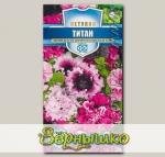 Петуния бахромчатая Титан, Смесь, 10 шт. Русский богатырь